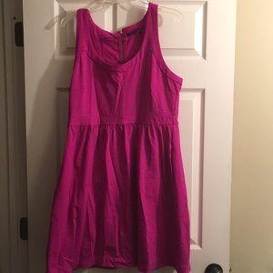 Cynthia Rowley zipper back dress